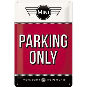 Nostalgic Art Tin Sign Mini Parking Only 20x30