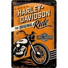 Nostalgic Art Tin Sign Harley Davidson Ride 20x30