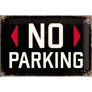 Nostalgic Art Tin Sign No Parking 30x20