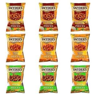 Snyders of Hanover Pretzel Pieces Crunch Pakket 3x3