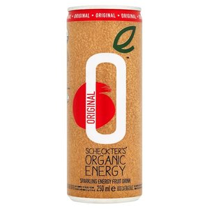 Scheckters Organic Energy Drink Original 250ml