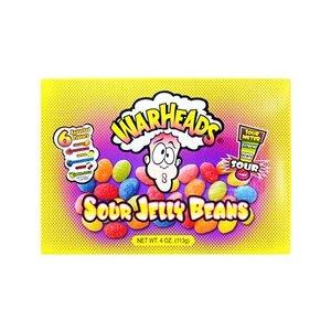 WarHeads Sour Jelly Beans Box 6 smaken