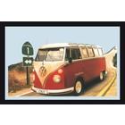 Bedrukte spiegel Volkswagen California 1