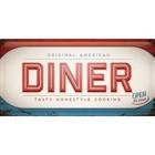 Nostalgic Art Tin Sign 50x25 American Diner
