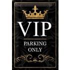 Nostalgic Art Tin Sign VIP Parking Only 20x30