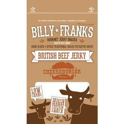 Billy Franks Cheeseburger Beef Jerky 40 gram