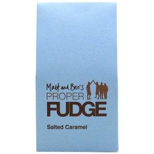 Matt and Bens Proper Fudge Salted Caramel Fudge Box