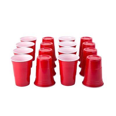 American  Cups Red Cups 16fl oz 25 stuks