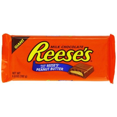Reeses Giant Milk Chocolate Bar met Reeses Peanut Butter 192 gram