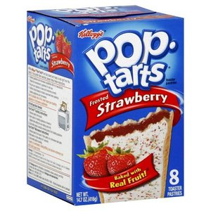 Kelloggs Pop Tarts Strawberry Frosted