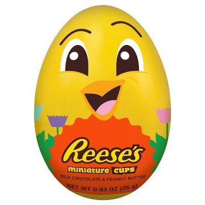 Reeses Peanut Butter Cup Miniatures Chick Egg