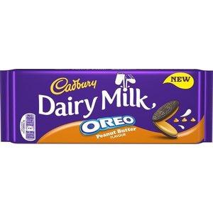 Cadbury Oreo Peanut Butter Dairy Milk 120 gram