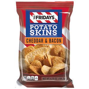 TGI Fridays Cheddar Bacon Potato Skins 113 gram