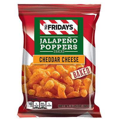 TGI Fridays Jalapeno Poppers Cheddar Cheese 99 gram