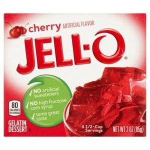 JELL-O Cherry Gelatine Dessert