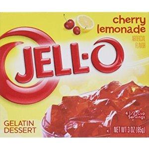 JELL-O Cherry Lemonade Gelatine Dessert