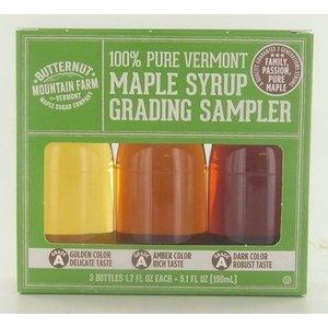 Butternut Mountain Farm 100% Pure Vermont Grading Sampler 150ml