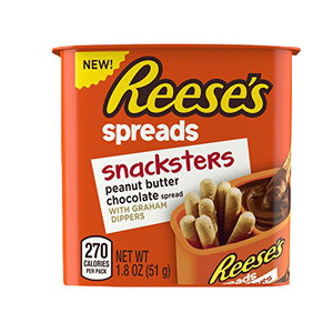 Reeses Snacksters PB Chocolate Spread and Graham Crackers