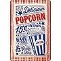 Nostalgic Art Tin Sign Popcorn 20x30 cm