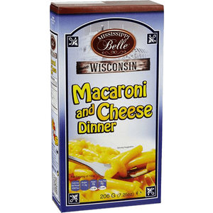 Mississippi Belle Macaroni and Cheese 206 gram 7.25oz