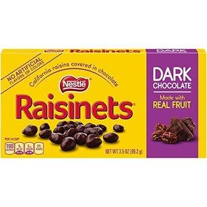 Nestle Raisinets Dark Chocolate 99 gram