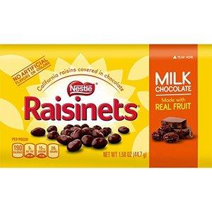 Nestle Raisinets Milk Chocolate 99 gram