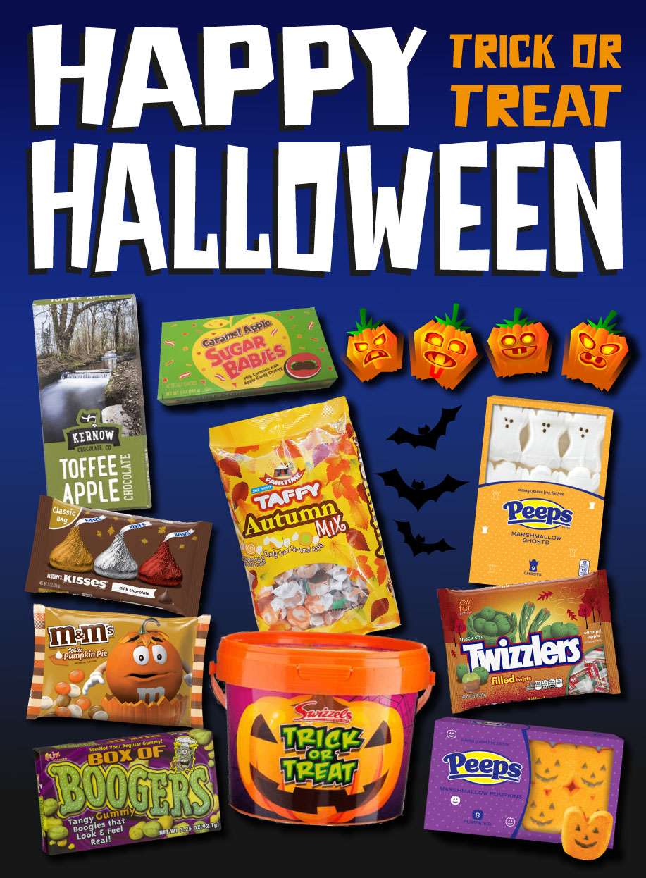 Halloween Side Ad Orange