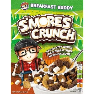 Breakfast Buddy Smores Crunch Cereal 275 gram