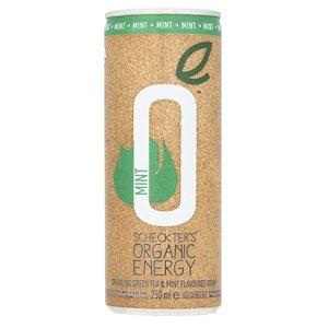 Scheckters Mint Energy Drink Biologisch 250ml