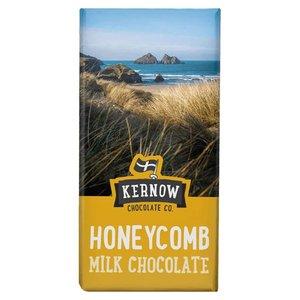 KORTERE THT: Kernow Honeycomb Milk Chocolate Bar 95 gram