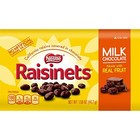 KORTERE THT: Nestle Raisinets Milk Chocolate 99 gram