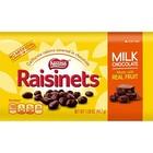 NET VERLOPEN: Nestle Raisinets Milk Chocolate 99 gram