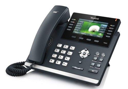 YeaLink SIP-T46G Gigabit VoIP telefoon voor 6 lijnen