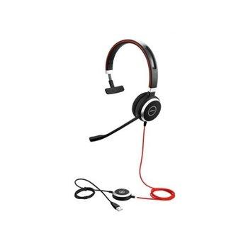 Jabra Evolve 40 MS Mono Microsoft Lync Headset