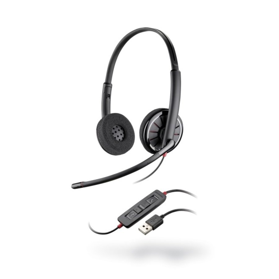 Blackwire C320-M Microsoft Lync USB headset