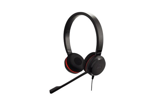 Jabra Evolve 30 II MS Stereo voor PC (SfB) & Mobiel (3,5 mm Jack)
