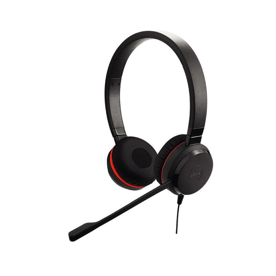 Evolve 30 II MS Stereo voor PC (SfB) & Mobiel (3,5 mm Jack)