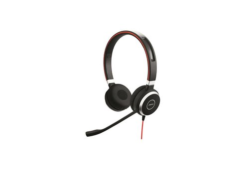 Jabra Evolve 40 MS Stereo voor PC (SfB) & Mobiel (3,5mm Jack)