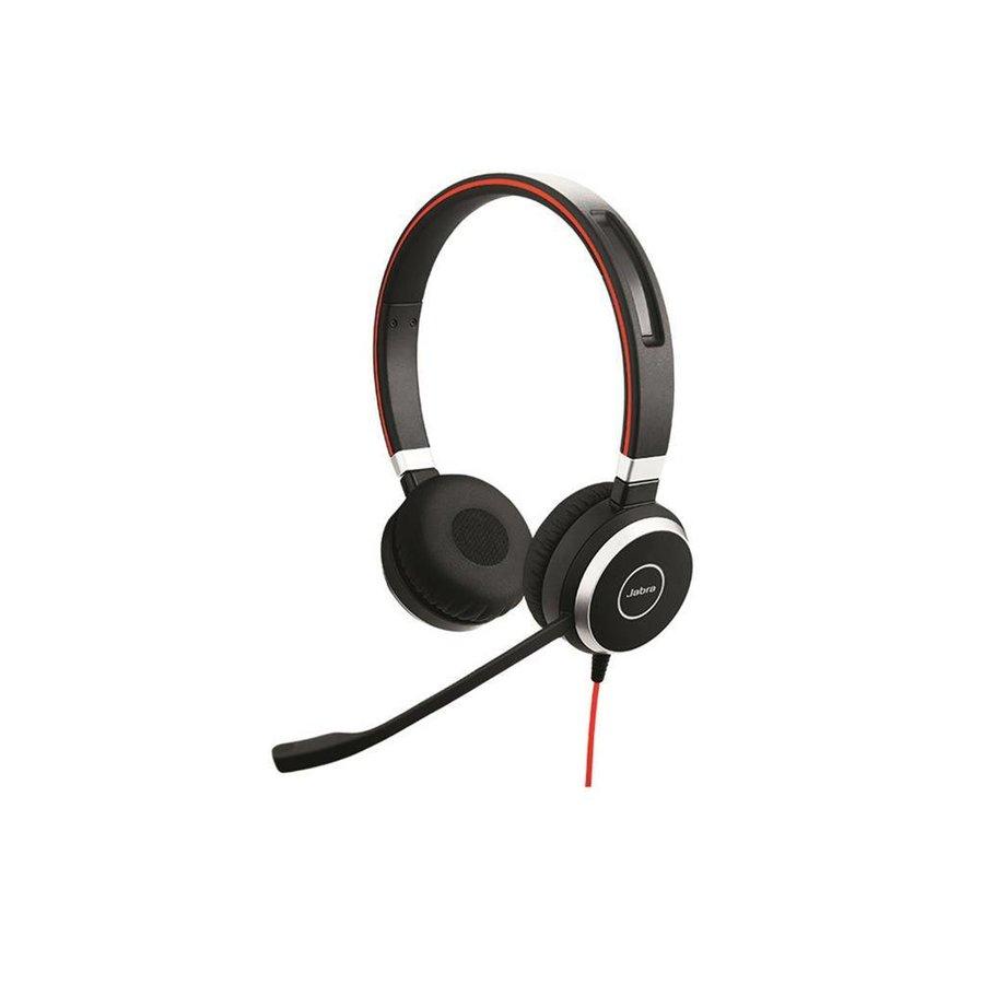 Evolve 40 MS Stereo voor PC (SfB) & Mobiel (3,5mm Jack)