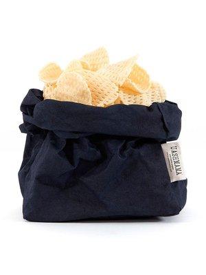 UASHMAMA® Paper Bag Donkerblauw