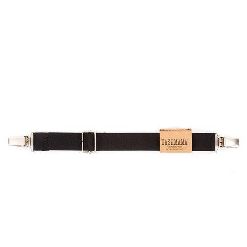 UASHMAMA® Mini Bretel Elastiek Zwart