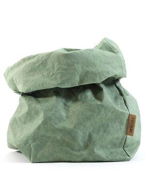 UASHMAMA® Sac en papier vert menthe