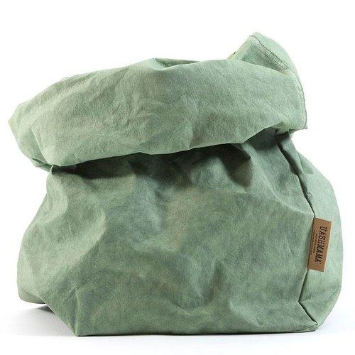 UASHMAMA® Paper Bag Mintgroen
