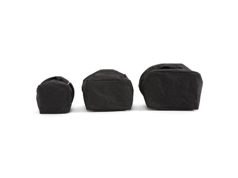 UASHMAMA® Paper Bag Black