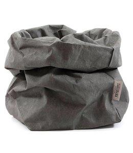 UASHMAMA® Paper Bag D. Grey