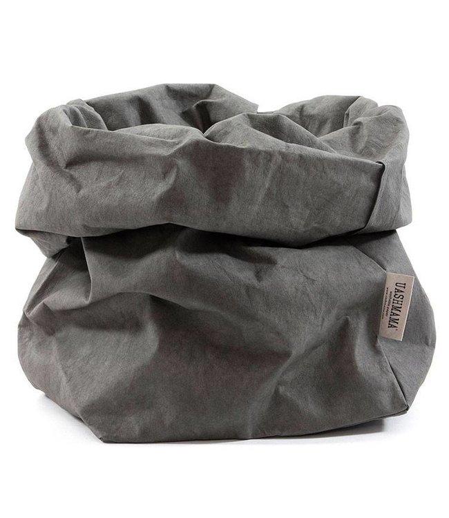 UASHMAMA® Paper Bag Dark Grey