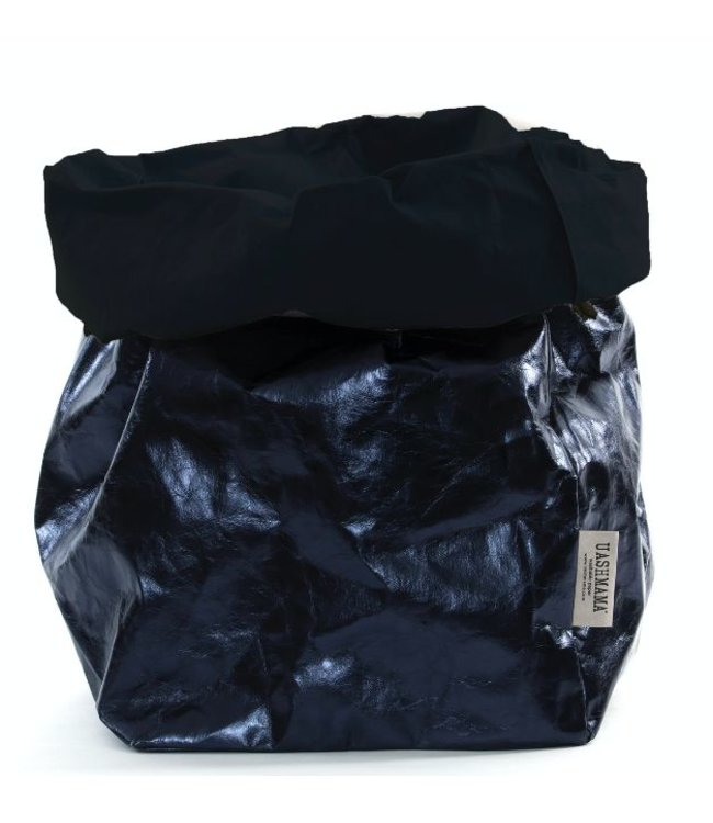 UASHMAMA® Paper Bag D. Blue/Petrolio