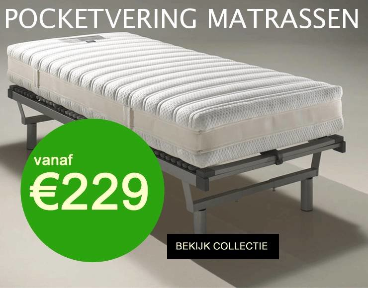 Pocketvering matrassen