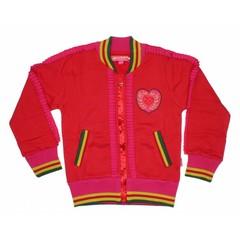 "Dutch Design Bakery Cardigan Vest ""Heart"""