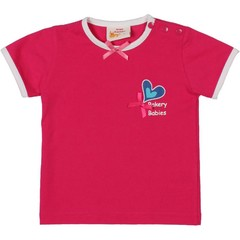Dutch Design Bakery T-Shirt Fuchsia Hart